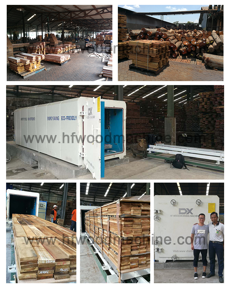 Large Vacuum Chamber For Wood Drying Machine