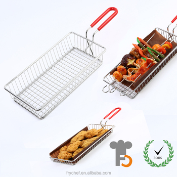 Stainless Steel Metal Type and Storage Baskets Type fren fry holder F0155
