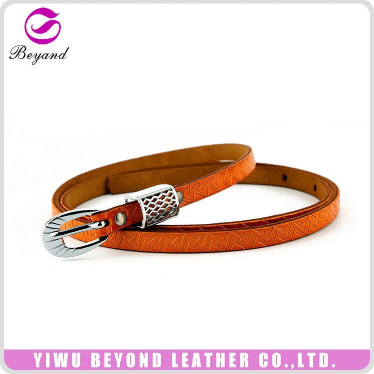 Garment accessories super quality personalized leather belts manufacturer