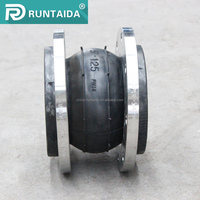 Sun resistance ANSI/DIN standard flanged rubber steam expansion joints