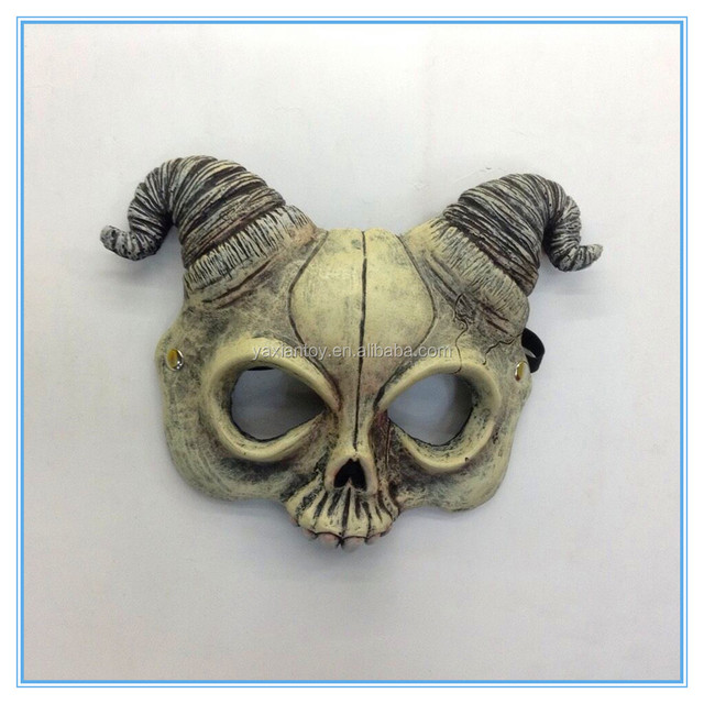 2015 Promotion mens halloween terrible goat mask