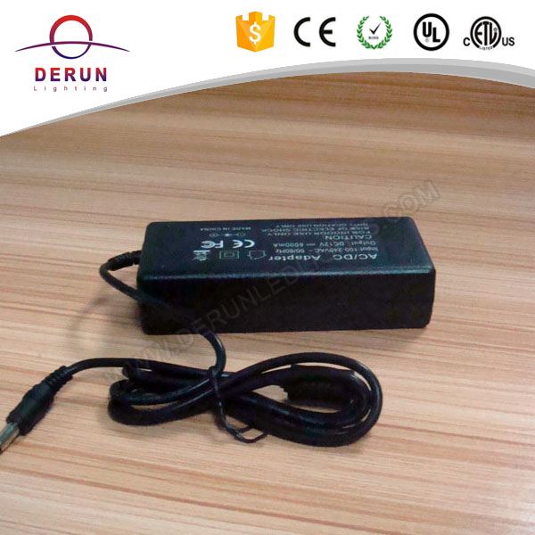 12V 6A 72W US UK EU plug in dc led transformer