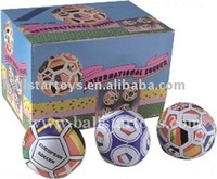 stuffed Phthalate free PVC leather toys soccer balls