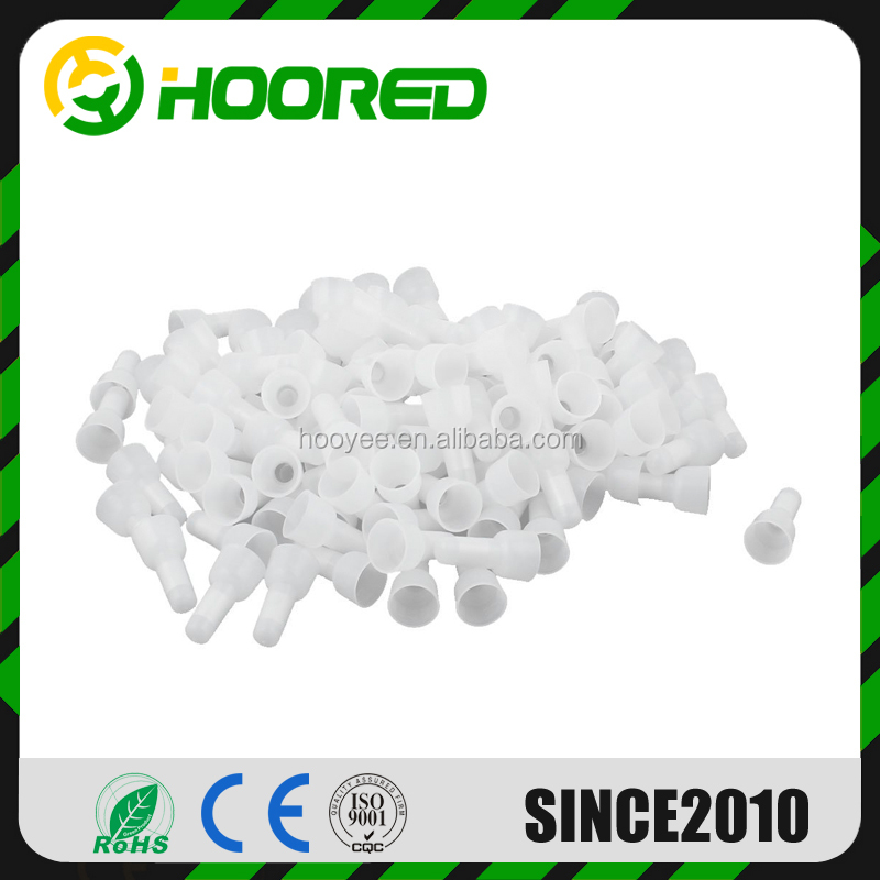 1000pcs / pack CE2 Closed - Insulated Crimp Terminals End Wire Connectors Cap for Electric fan
