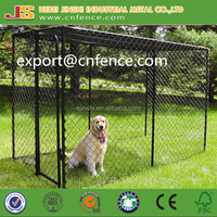 1.5x3x1.82m Large outdoor PVC coated chain link dog kennels & dog cages & dog runs