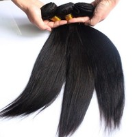 Top Grade Quality Straight Hair 100 Percent Indian Remy Human Hair