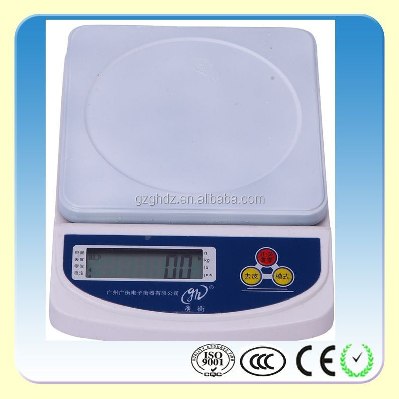 5000g Kitchen <strong>Balance</strong> for Water and Milk /house use electronic kitchen scale
