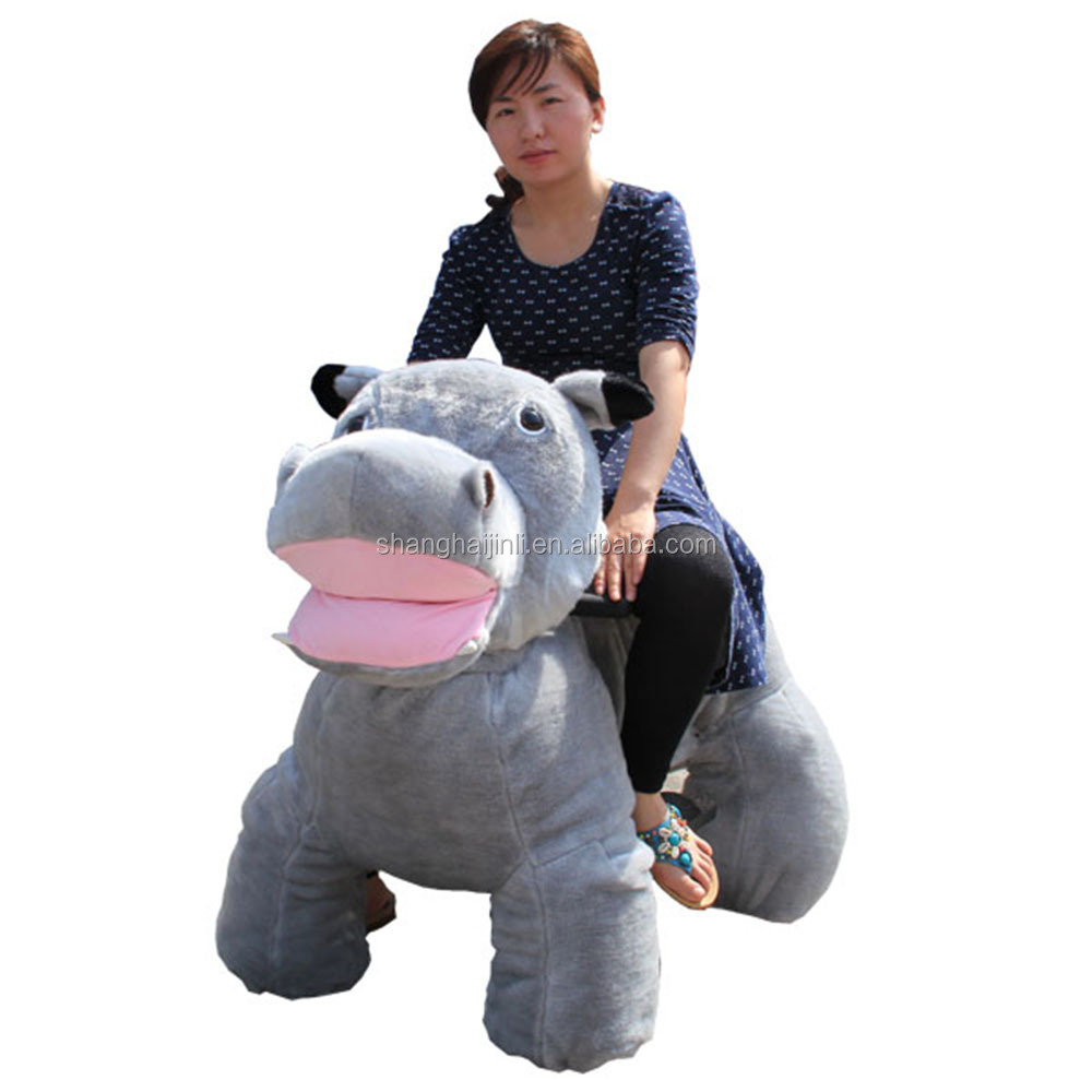 Jinli CE stuffed animal rides adult electric <strong>car</strong> Supplier