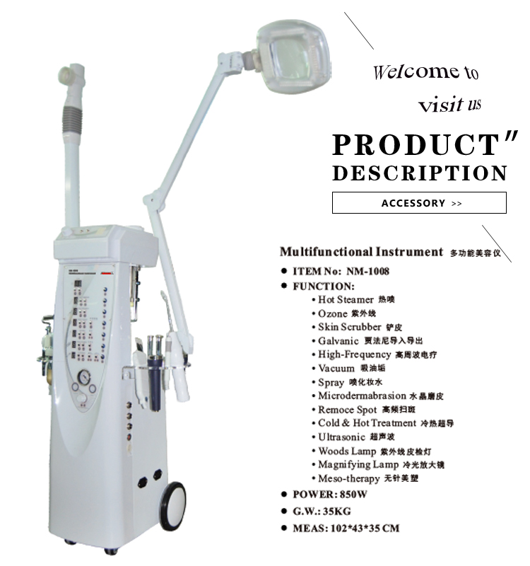 Factory direct wholesale 14 in 1 multifunctional beauty salon equipment with OEM service