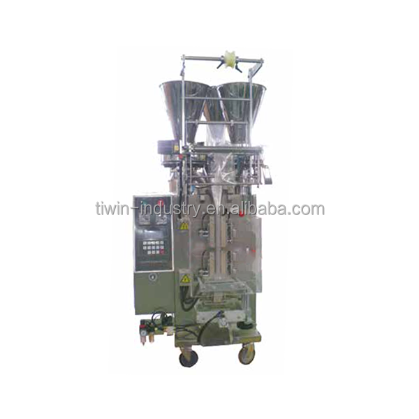 DCKKK-400 granule packing equipment with total power 3.2 kw (three hoppers)