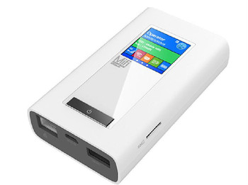 4G router with power bank