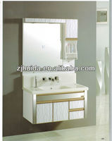 2015 new china Bathroom pvc cabinet with mirror bathroom cabinet
