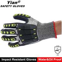 petroleum workwear cut resistant gloves high performance level 5