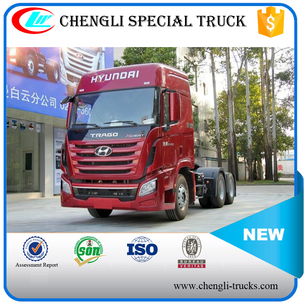 HYUNDAI 6*4 340hp Diesel 40ton Tractor Truck With Stronger Materials Cheap Price (4X2 Available)