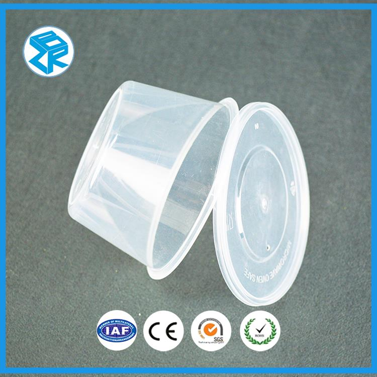 Newest Plastic material disposable dinner punnet bento box packaging fast food container