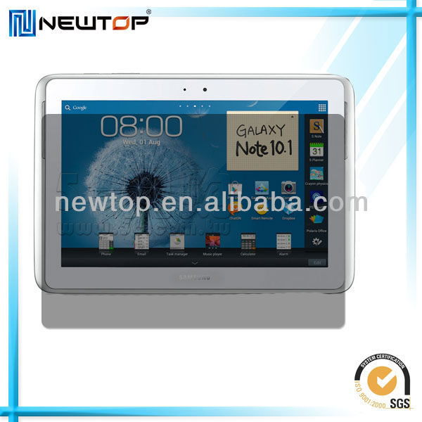 LCD screen privacy filter for galaxy note 10.1 n8000
