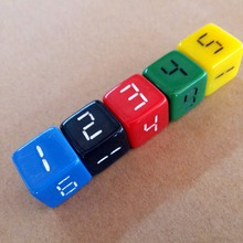 Wholesale 16mm Custom Different Colored Dice for Game