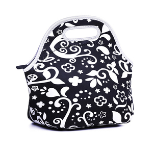 Large Reusable Neoprene Lunch Bag for Ladies