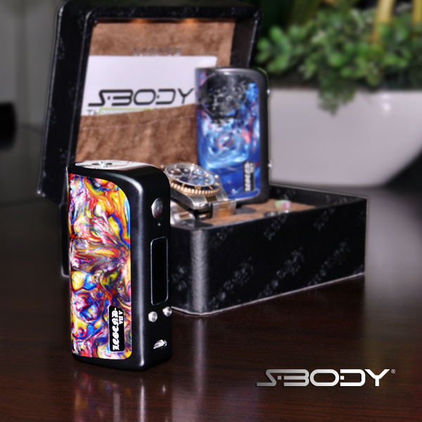 Asian resin 75w box mod best vape legend dna75 26650 mod