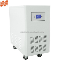 MARS ROCK 5000W DC96V AC110V 220V with charger LCD AC by Pass AVR Power frequency pure sine wave solar inverter