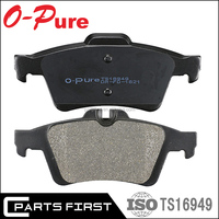 Auto Spare Parts Wholesale Chinese Ceramic Semi-metallic raw material brake lining brake pad TRW GDB1621 For FORD CITROEN OPEL
