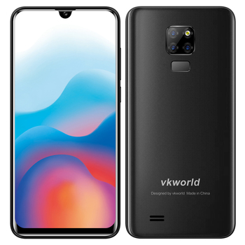 FDD/TDD Cellphone VKWORLD SD200 Smartphone Waterdrop Smartphone 3G+32G phone  4G Android 9.0 Cheap China Mobile Phone