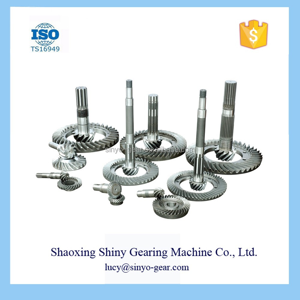China Factory Spiral Bevel Gear Machine for Transmission Gearbox