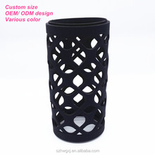 Custom BPA Free Silicone Glass Water Bottle Sleeve