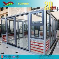 Aluminum Glass Doors Screen Door New Product Low Prices Flexible Designs Energy Efficient
