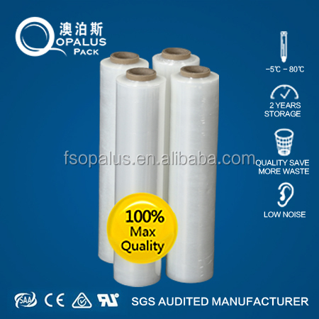 23 micron lldpe pallet wrap stretch film pe packing film