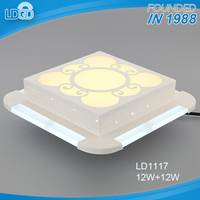 Great quality and fast delivery zhongshan cheap price led flush mount ceiling light 12w dimmable surface mounted light