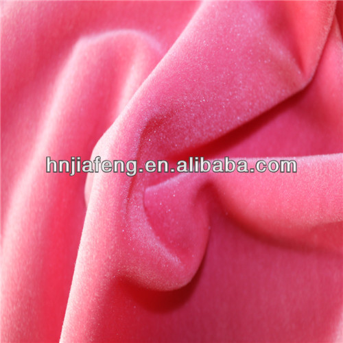 100% polyester velvet fabric popular sofa fabric hometextile