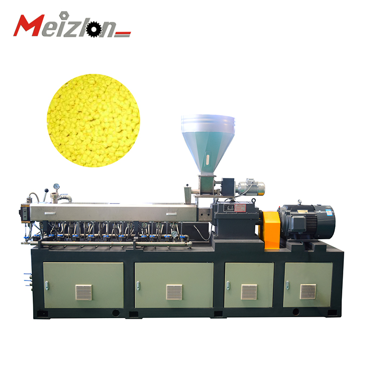 PVC plastic pipe strapping band production extrusion machine / Extruding line