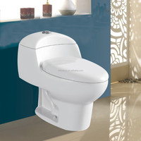 2016 fashion style bathroom sanitary ware , one piece ceramic toilet