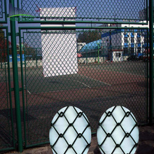 2017 HOT SALE cheap pvc coated chain link golf course fence