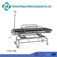 C-065-7360 Stainless Steel Resuscitation Trolley for First-aid Cart