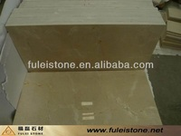 Crema marfil cream beige marble tile for Sale
