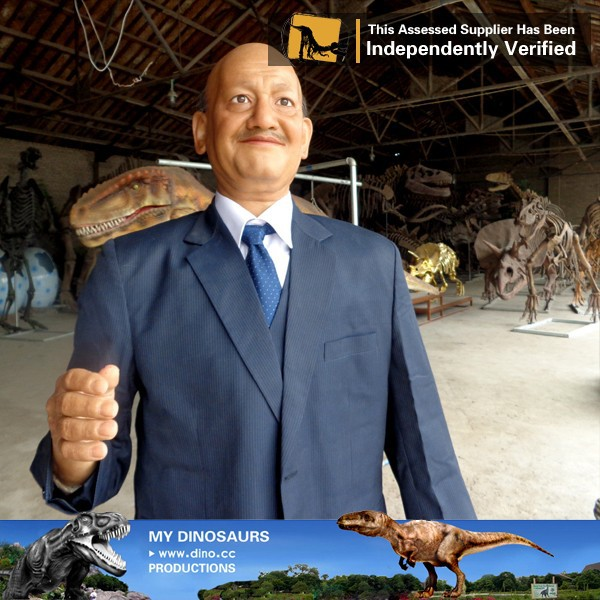 MY Dino-J04 Theme park animatronic human cheap