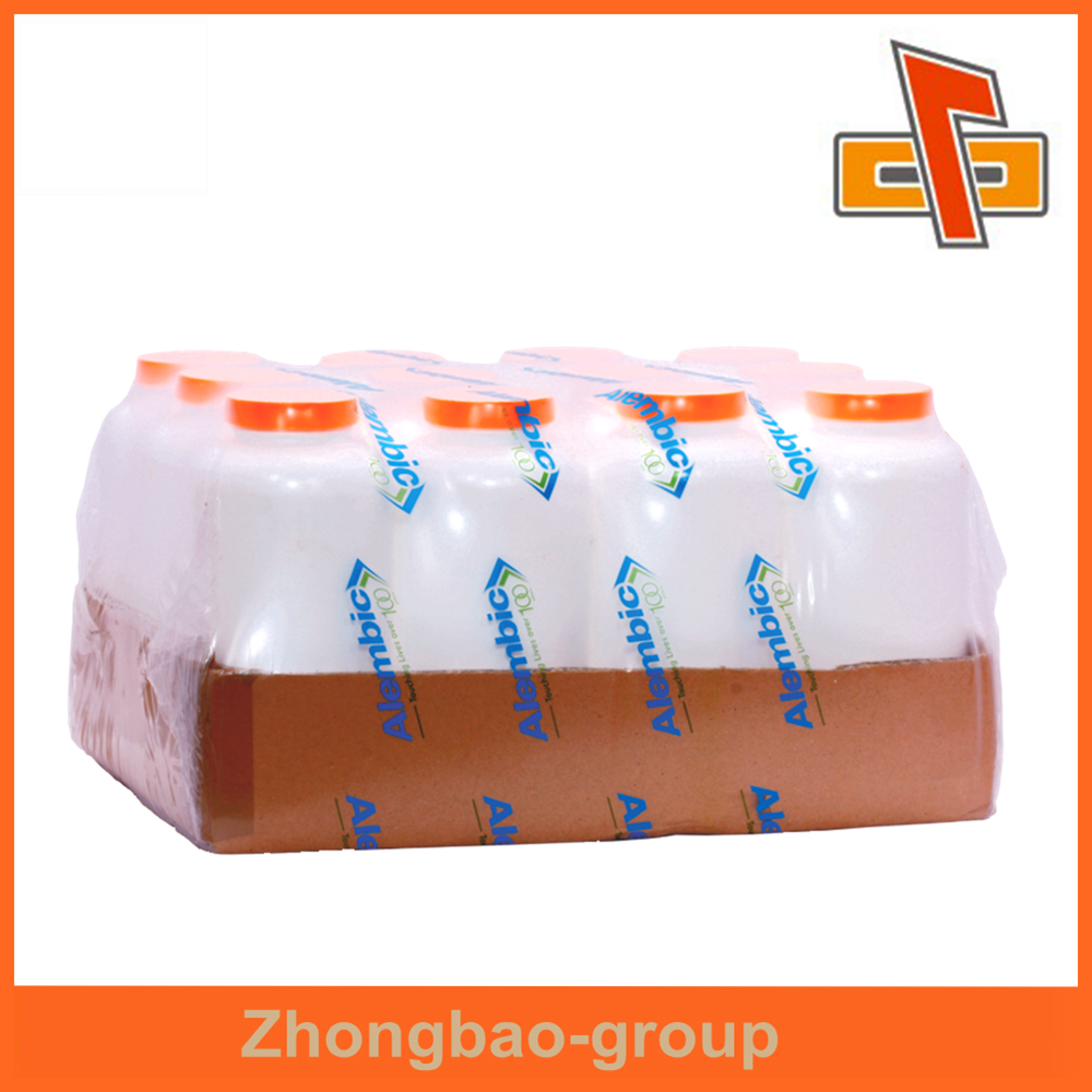 Customize high quality water proof feature heat sensitive LDPE shrink film for beverage collation