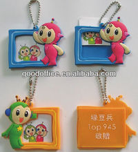 Factory producr-nwe style Soft photo frame key chain with gifts