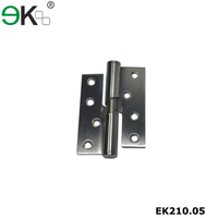 Stainless steel furniture hardware hidden ball bearing gate door hinge