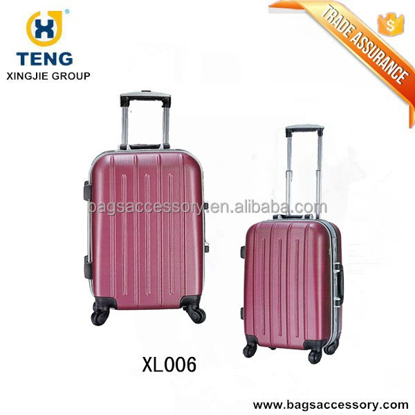 Best Travel Trolley Luggage Bag with Aluminum Trolley