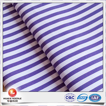 yarn dyed stripe purple white wholesale cotton fabric for shirt
