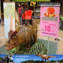 My dino-11Walking amusement dinosaur rides for park sale