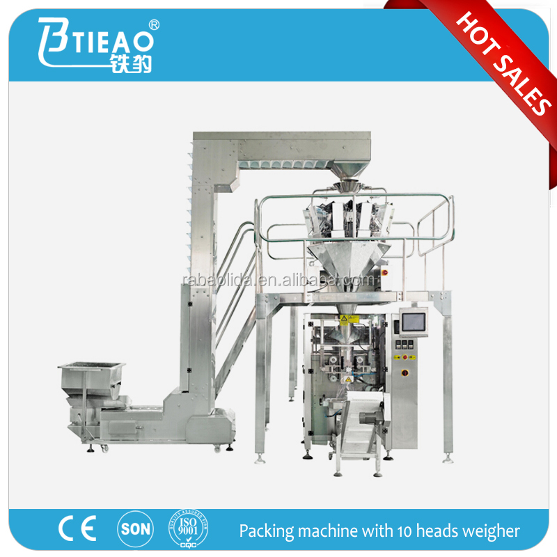 plastic bag packing machine potato chips