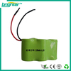 SGS CE ISO complied manufacturer NiMh 3/2A 6 volt battery pack