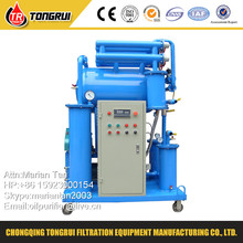 Vacuum Insulation Oil Filtration Waste Transformer Oil Recycling Machine