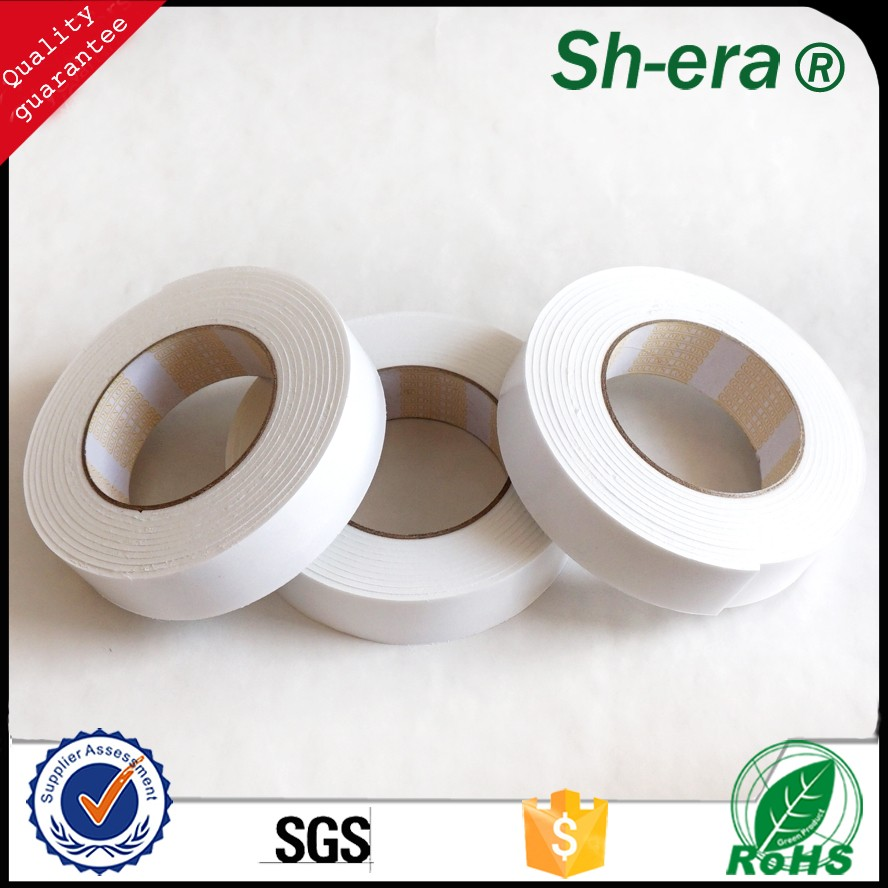 2016hot sale good adhesive EVA Foam Tape with hot melt glue repair the abnormal surfaces by alibaba golden supplier