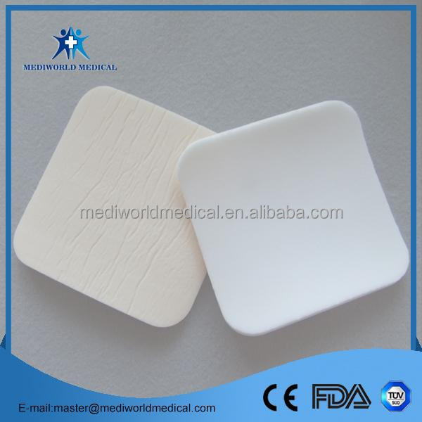 Multifunctional comfort hydrophilic foam dressing with silicone made in China