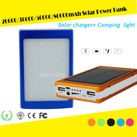 Factory wholesale 70000 mah portable power bank, power bank 70000 mah, solar power bank 70000 mah with led camping light